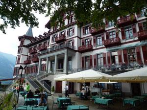 Schweiz Alpen Grandhotel Giessbach © M. Neiken