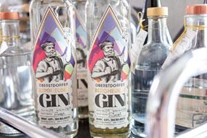 Hausgemachter Gin aus Oberstdorf ©Das Freiberg