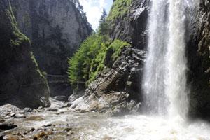 Wilder Wasserfall am Entlebuch