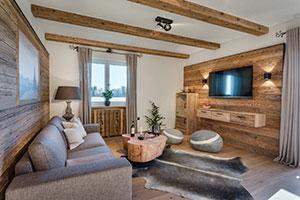 Luxuriöse Ferienwohnung mit viel Holz bietet der Hussnhof ©www.guenterstandl.de