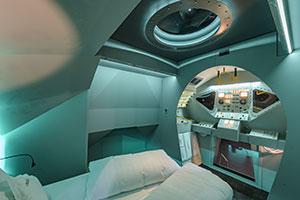 Weltraumzimmer im Hotel Oberwirt in Steinegg